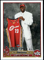 2003-04 Topps #221 LeBron James RC Rookie Cleveland Cavaliers ORIGINAL