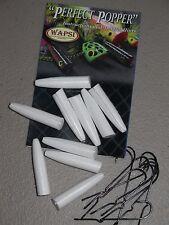 Wapsi Perfect Popper Hard Foam Blanks with Hooks - size Pencil #1