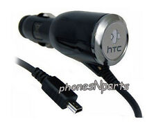 New Genuine OEM HTC CLM10D-050 <MINI USB PORT> Car Vehicle Rapid Charger Adapter