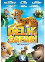 Delhi Safari A Tail of Adventure (DVD)  Jane Lynch Brad Garrett Cary Elwes
