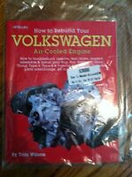 HOW TO REBUILD YOUR VOLKSWAGEN AIR COOLED ENGINE BUG BUS GHIA TOM WILSON MANUAL