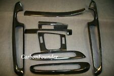 BMW E46 COUPE M3 CARBON FIBER INTERIOR TRIM DASH KIT LHD 46-2CF