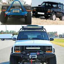 "1PC 7X6"" 5x7"" LED Headlight DRL 6000K For Chevrolet Jeep Cherokee XJ Wrangler YJ"