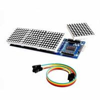 MAX7219 controller 4 In 1 Display LED 5P Line Dot Matrix Module for Arduino F6H6