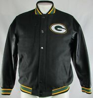 Green Bay Packers NFL Team Apparel Men's Snap Up Full-Zip Jacket