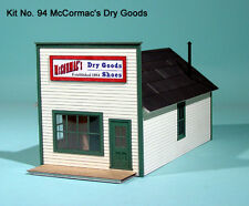 LaserKit S Scale McCormac's Dry Goods Kit #94 Bob The Train Guy