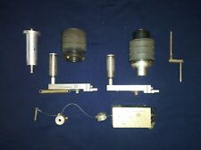 Ampex Atr-124 Assorted Tape Transport Capstan/Tach and Multiple Parts Tape Guide