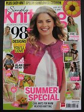 SIMPLY KNITTING Magazine Issue 123, August 2014 – with ALAN DART