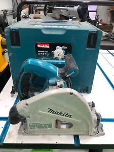 Makita SP6000 Plunge Cut Circular Track Saw works on Festool track