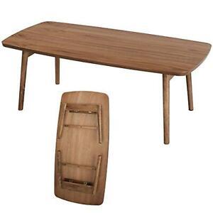 AZUMAYA Foldable Coffee Center Table TAC-229 WAL W 1050 x D 520 x H 350mm