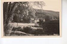 Real Photo Postcard Norman Rockwell Home Arlington VT