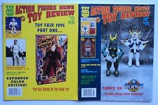 2 issues Action Figure News #29 & 30 1995 Robotech Star Wars Transformers Toys