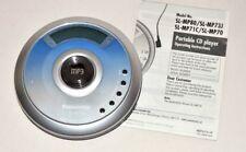 Panasonic Portable CD Player SL-MP70 MP3 Silver & Aqua Blue