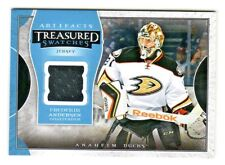 2015-16 UD Artifacts TREASURED SWATCHES JERSEY RELIC TS-FA FREDERICK ANDERSEN