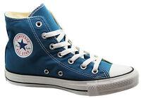 Converse Chuck Taylor Ct Hi Unisex Blue Canvas Trainers (136811C D63)