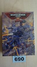 WH40K LIMITED EDITION SPACE MARINE CAPTAIN WH40K 25TH ANNIVERSARY NISB OOP #690