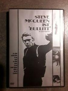 """Actionkino  mit  Steve McQueen   ist   """"Bullitt""""         DVD"""