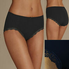Marks & Spencer Lace Trim Midi Knickers Full Briefs Microfibre M&S 2 For £12