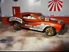 2002 HOT WHEELS CARBINATED CRUISERS 1970 CHEVELLE REIHLMAN'S ROOT BEER LOOSE