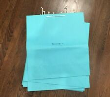 Tiffany & Co. | Paper Gift Bag | 20 x 18 x 7 | Baby Blue | Pack of 9