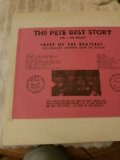 The Pete Best Story Best of the Beatles LP