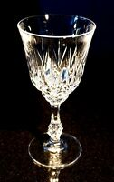 Beautiful Bohemia Cut Crystal White Wine Glass
