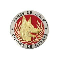 VERITABLE INSIGNE CHIENS DE GUERRE ARMEE DE L'AIR CPA 10 FUSILIERS COMMANDOS AIR