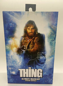 NECA THE THING ULTIMATE MACREADY STATION SURVIVAL VERSION 2 IN STOCK