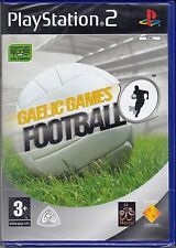 Ps2 PlayStation 2 «GAELIC GAMES FOOTBALL» nuovo import UK