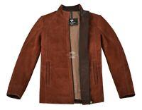 CAFE RACER Leather Jacket Men Supreme Biker Soft Italian Nubuck Leather Jacket