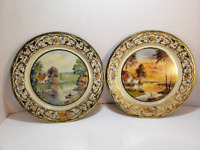 Set of 2 Daher Decorated Ware - Holland, Metal Plates