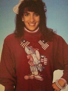 Vintage, 1990 Plaid Betsy Bunny Iron On transfer. NEW OLD STOCK
