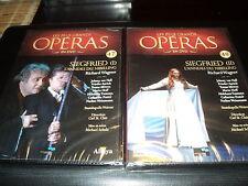 "2 DVD ""SIEGFRIED L'ANNEAU DU NIBELUNG I & II"" Les plus grands operas N°47 & 48"