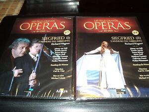 2 DVD neuf SIEGFRIED L'ANNEAU DU NIBELUNG I & II Les plus grands operas N°47 48