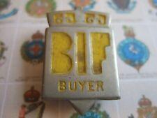More details for vintage 1934 bif british industries fair home buyer buttonhole badge!