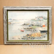 L.Rosan Little Harbor in Brittany by Louis Rosan Item No: 480