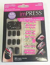 Kiss imPRESS Press-On Manicure Nail Designer Kit - 59853 Yule Log