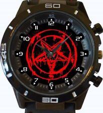 Bleeding Satan Pentagram New Gt Series Sports Wrist Watch FAST UK SELLER