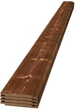 1 in. x 6 in. x 6 ft. Charred Barn Wood Shiplap Pine Board Canyon Brown (4-Pack)