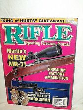 RIFLE 7/1996~MILLER MARKSMAN~MARLIN MR-7~RIGBY 7X61~BEEMAN P1 MAGNUM~DAKOTA 257
