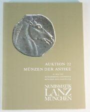 Auktionskatalog 22 Numismatik Lanz München 1982 Münzen & Medaillien B6284