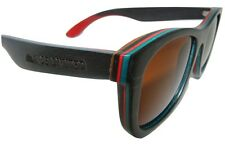 Wooden Sunglasses SKATER  in Skateboard Wood by Ande Limited