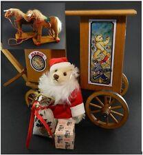 Steiff 2002 Ltd. Edition Santa's Express #037986 in Box w Papers