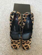 Vintage Dolce & Gabbana Suede/leather Leopardskin Shoes