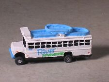N Scale White Water River Rafting Bus.