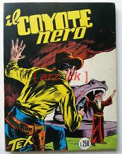 TEX GIGANTE 29 Il Coyote Nero ARALDO 1966  L. 250