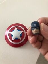 Marvel Legends Avengers Gamerverse CAPTAIN AMERICA head and shield only NO BODY