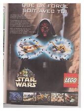 JOURNAL DE MICKEY 2470  BE+ fiches PUB STAR WARS LEGO BURAGO PORSCHE GT3