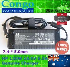 120W 18.5V 6.5A Genuine Charger HP Pavilion DV4 DV5 DV6 DV7 608426-002 7.4x5.0mm