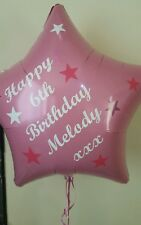 "Personalised Vinyl Wording for 18"" Foil Balloon"
